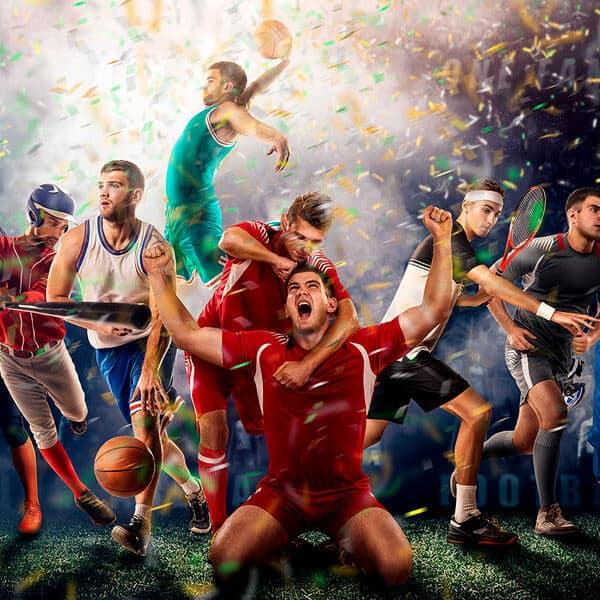 A imagem que representa os vencedores